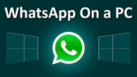 whatsapp on PC logo